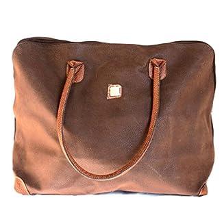 Bolsa de viaje 'Gabol'marrón (52.5x36x17.5 cm).