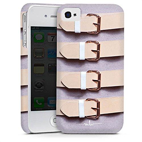 Apple iPhone 5s Housse Étui Protection Coque Boucles lilas Cuir Mode Cas Premium mat