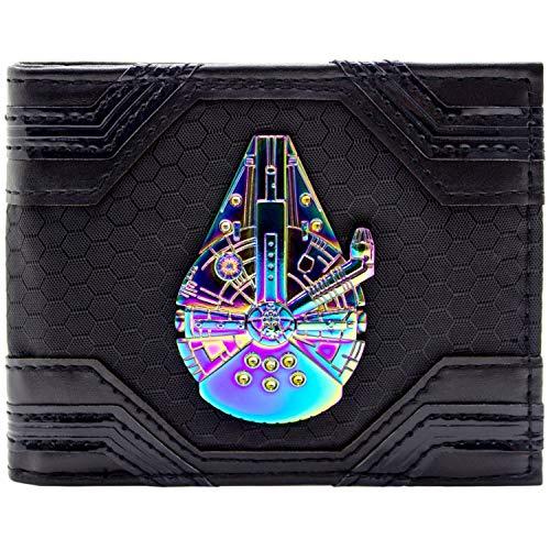 Cartera Star Wars Millennium Falcon Insignia Iridiscente