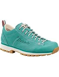 DOLOMITE Uomo Tempo Libero scarpe Ottanta cinque Surround, Grigio/verde, 5.5 UK