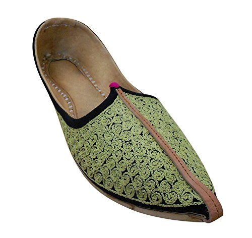 Kalra Creations , Chaussons pour homme Vert
