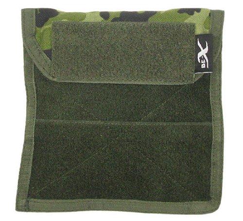 BE-X Organizertasche -Admin Panel- mit Innenunterteilung und Klettfläche - dänisch tarn