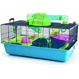 Savic Hamster Heaven Navy Blue Hamster Cage, 80 x 50 x 50 cm