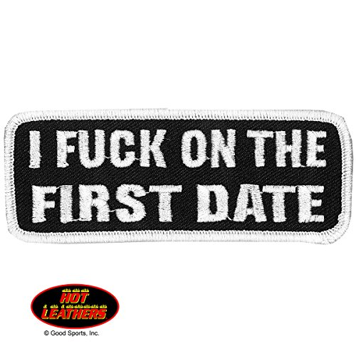 i-fck-on-the-first-date-exceptional-quality-iron-on-saw-on-heat-sealed-backing-rayon-patch-4-x-2