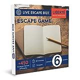 Coffret Cadeau Escape Game Liberté 6 Joueurs