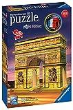 Ravensburger Puzzle 3D Arc Triomphe Illuminé 216 Pièces, 12522