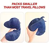 J-pillow, Travel Pillow - British Invention of the Year 2013 - (Navy) Bild 6