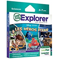 LEAPFROG Jeu Leapster/LeapPad - Les héros Pixar