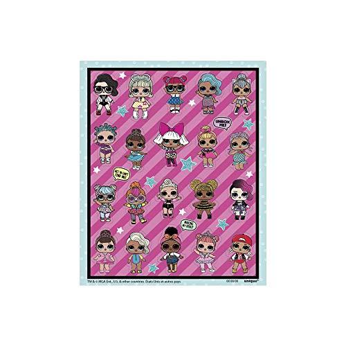 Unique Party 79119 Sticker - Geburtstag-party Puppe