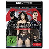Batman v Superman: Dawn of Justice (4K Ultra HD + 2D-Blu-ray) (2-Disc Version)  [Blu-ray]