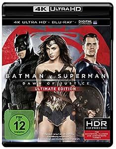 Batman v Superman: Dawn of Justice (4K Ultra HD + 2D-Blu-ray) (2-Disc Version) [Blu-ray]