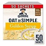 Quaker Oats Oat So Simple goldenen Sirup Flavour - 1 x 50 Beutel
