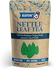 Kayos Natural Himalayan Stinging Nettle Leaf Tea, 100 G