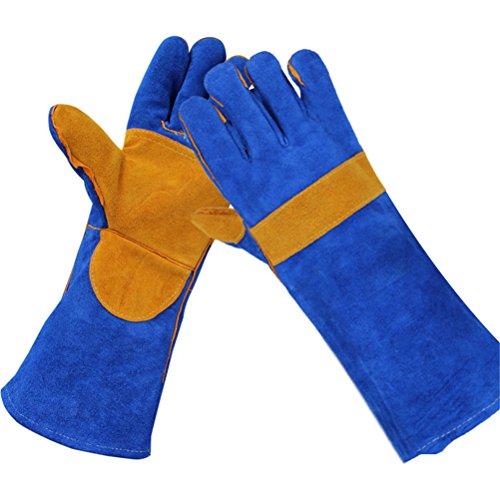 Animals Protective Gloves Bissfeste/Anti-Fang-/Badehandschuhe Für Hundekatze Haustiere, Lang 40Cm,2Pair