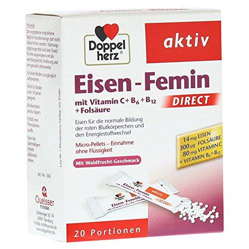 Doppelherz Aktiv Eisen-Femin DIRECT 20 Stück