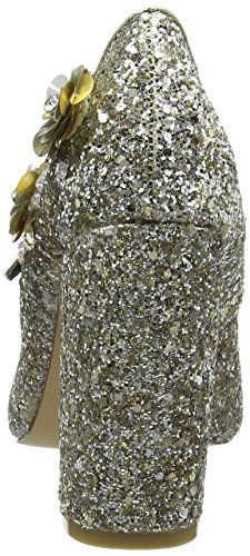 Dorothy Perkins Desire Embellished, Scarpe Col Tacco, Donna Oro (Gold)