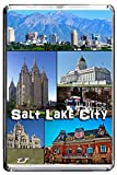E292 SALT LAKE CITY FRIDGE MAGNET USA TRAVEL PHOTO REFRIGERATOR MAGNET
