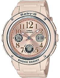 Casio Baby-g Analog-Digital Rose Gold Dial Women's Watch-BGA-150CP-4BDR (BX124)