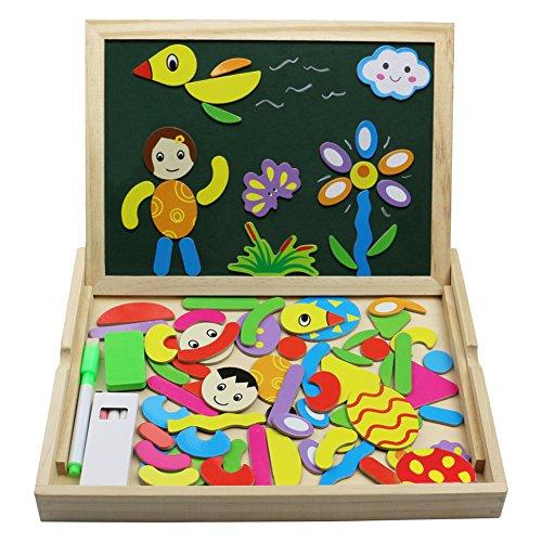 fajiabao-lavagnetta-magnetica-disegno-giocattoli-di-legno-gioco-educativo-puzzle-per-bambini-3-anni