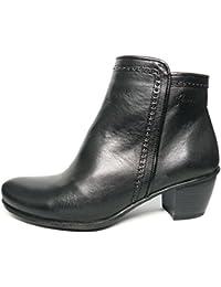 Botín piel muy cómodo Dorking-Fluchos - color negro - 6077 - 64