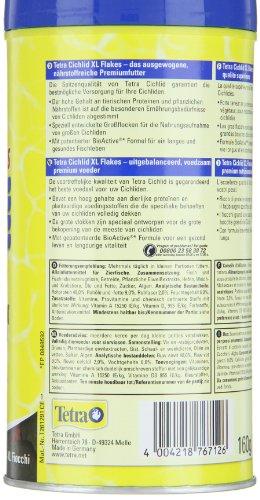 Tetra Cichlid XL-Flakes (Hauptfutter für alle größeren Cichliden), 1 Liter Dose - 3