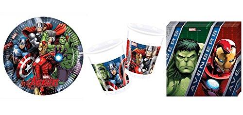 ty Marvel Avengers Power Set 1, Größe S, 37 teilig (Geburtstag Avengers)