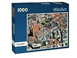 München - Puzzle 1000 Teile mit Bild von oben