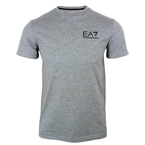 Emporio Armani Herren T-Shirt  Einheitsgröße Gr. XL, grau  (Ea7 Armani)