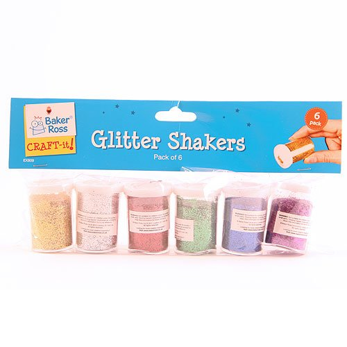 Baker Ross Glitter Shaker Tubes ...
