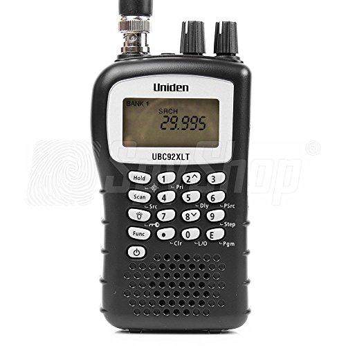 Uniden Bearcat UBC-92XLT Breitbandfunkscanner / Handscanner / Funk Scanner / Frequenzbereich 25 - 960MHz