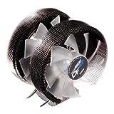 Zalman CNPS9900DF Kühlkörper und Dual Fan