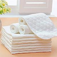 Sensail Lot de 5 linges de protection pour couche lavable en microfibre et bambou eco