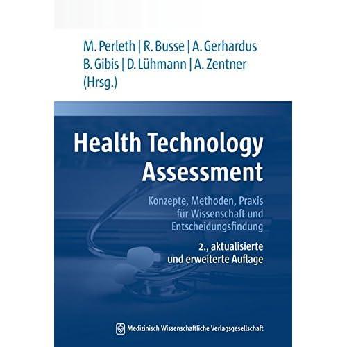 PDF] Health Technology Assessment: Konzepte - Methoden - Praxis für ...