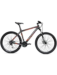 "Gravity 27,5 MTB VERTEK bicicleta 24"" velocita'negro/naranja (MTB)/Bicycle MTB Gravity 27,5 24"" speed Black (MTB)/Orange"