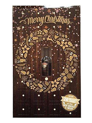 Adventskalender für Erwachsene, Schokolade undBaileys, 50ml