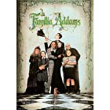 Póster de película La Familia Addams Español 11x 17en–28cm x 44cm Anjelica Huston Raul Julia Christopher Lloyd Dan hedaya Elizabeth Wilson Judith Malina