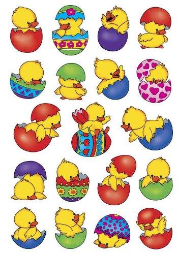 (3686 Sticker DECOR Küken im Ei)
