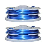 2 X Genuine ALM Flymo Double Autofeed Multitrim Contour Strimmer Line & Spool FL289 Deal