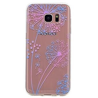Coque Samsung Galaxy S7 ,BONROY® Ultra-Mince Soft Silicone Etui de Protection pour Modèle de peinture Souple Gel TPU Bumper Anti-Scratch Housse Case Cover Pour Samsung Galaxy S7