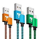 Best Iphone Cable Chargers - iPhone Charger Cable Rephoenix Lightning Cable 3Pack 2M-Lifetime Review