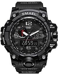 Multifunción Deportes al aire libre electrónico relojes hombres de natación impermeable LED Smart watches