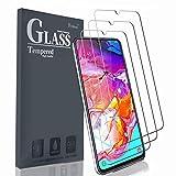 Ferilinso Schutzfolie Kompatibel mit Samsung Galaxy A70, [3 Pack] Panzerglas Schutzfilm aus gehärtetem Glas Samsung Galaxy A70 (Transparent)