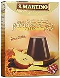 S.Martino - Budino Cioccolato Fondente 70% e Pera Senza Glutine - Astuccio 96G - [confezione da 11]