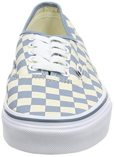 Vans Authentic Scarpe da Ginnastica Basse, Unisex Adulto Multicolore (checkerboard/classic White/citadel)