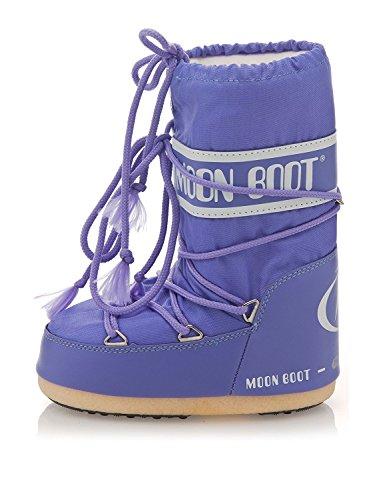 Moon Boot - Tecnica Nylon - Stivali - Unisex - Pervinca (Nero 066) - 14004400066 (23/26)