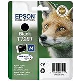 Epson original - Epson Stylus SX 235 W (T1281 / C 13 T 12814021) - Tintenpatrone schwarz - 170 Seiten - 5,9ml