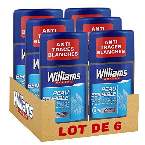 Williams desodorante stick piel sensible
