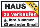 HB_Druck Haus privat Schild A2 (420x594mm)