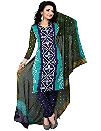 MEGHALYA Women's Satin Cotton Dress Material (3D Satin Cotton Dress-4049)