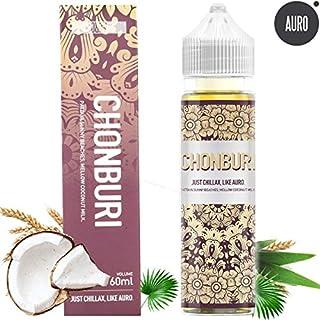E Cigarette Liquid 0mg Auro 60ML Natural Extracts Chonburi Oat-Coconut E Liquid/E Juice/Vape Juice/Shisha Juice/for Electronic Cigarette Vape Kit - Nicotine Free
